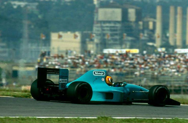 #16 Karl Wendlinger...March F1...March CG911B...Motor Ilmor LH10 V10 3.5...GP Brasil 1992