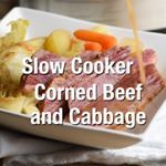 Slow Cooker Thai Coconut Corned Beef and Cabbage – red curry paste and coconut milk give this typical meal a Thai flair, that's subtly sweet and rich. All done in the crockpot. The wonderful broth lends itself toward a great soup, too! . INGREDIENTS . corned beef brisket . bay leaves . sweet onion . baby carrots . new baby potatoes . tomato paste . Thai red curry paste . ground coriander . fish sauce . coconut milk . chicken broth or water . cabbage . Grab the full recipe here 👉🏻…