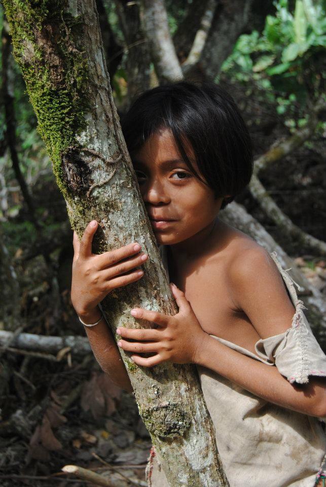 A Kogui child in la Sierra Nevada de Santa Marta, Palomino, Guajira - Colombia #travel #colombia