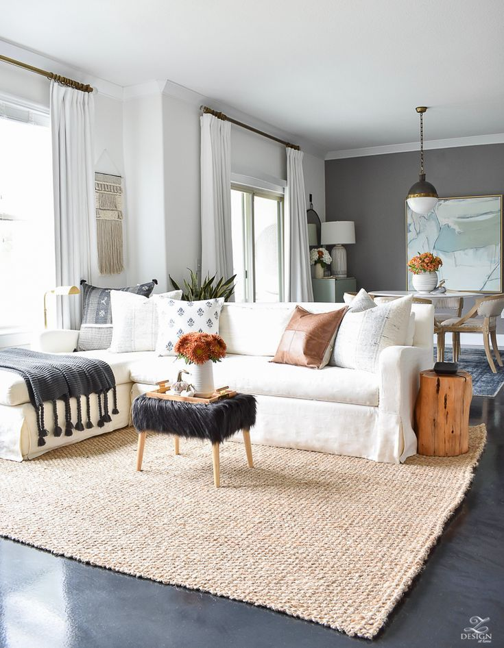Simple Modern Fall Decorating Ideas Zdesign At Home Modern Fall Decor Fall Home Decor Fall Living Room