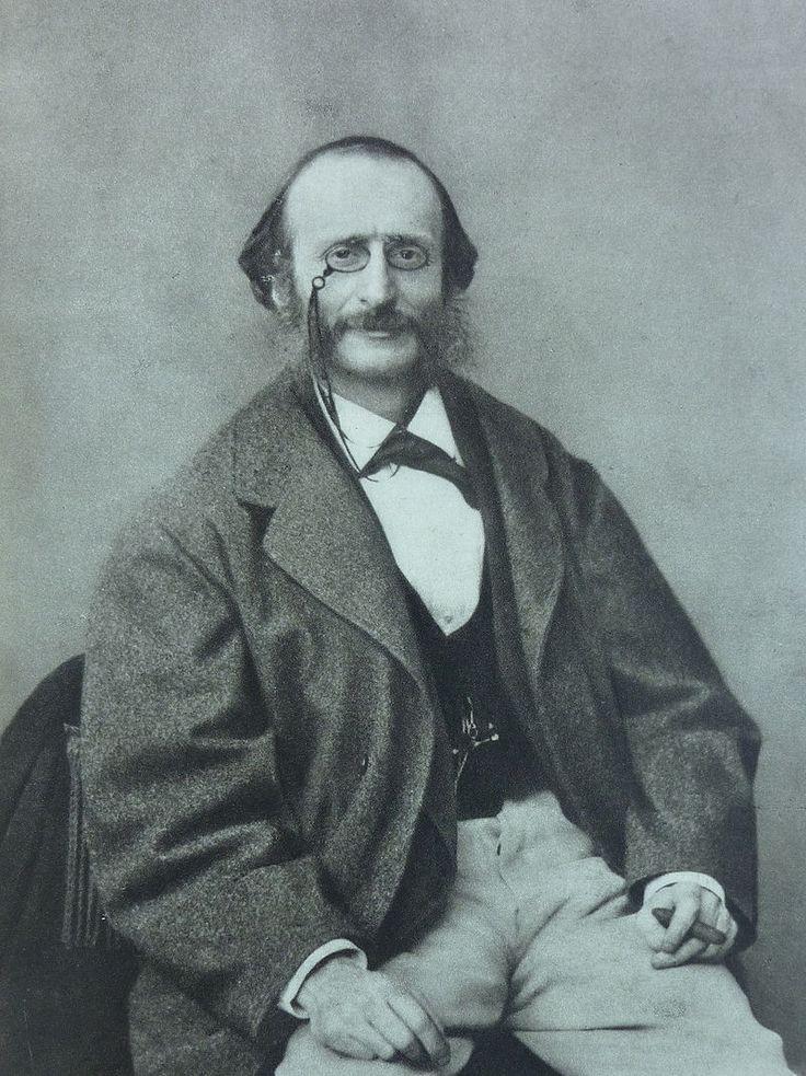 Jacques Offenbach, Fotografie von Félix Nadar