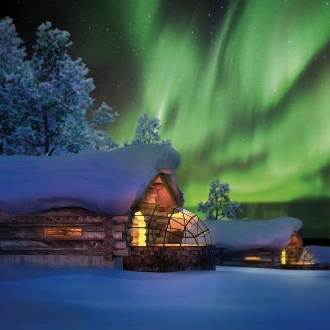 6 Winter Vacations So Magical You Won't Believe They're Real | Brit + Co