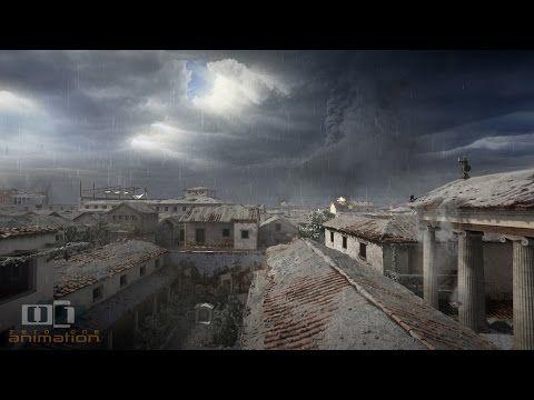 La stupefacente ricostruzione 3D dell'eruzione del Vesuvio che distrusse Pompei | Emozioni, immagini e parole