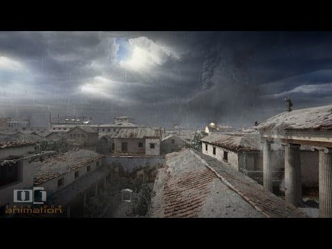 Watch the Destruction of Pompeii by Mount Vesuvius, Re-Created with Computer Animation (79 AD) Open Culture