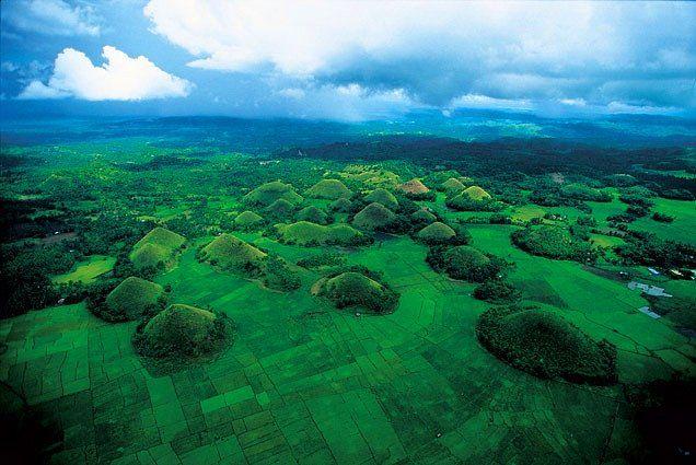 Çikolata Tepeleri, Bohol Adası, Filipinler