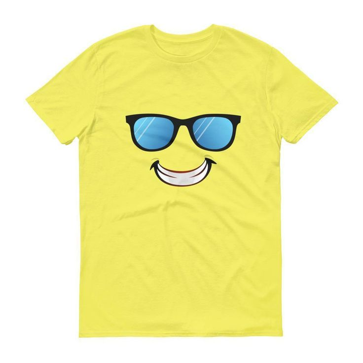 Sunglasses Smiling Emoji Shirt