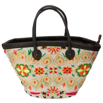 Bohemian Super Fine Wool Embroidery Corn Leather Bag Straw Bag