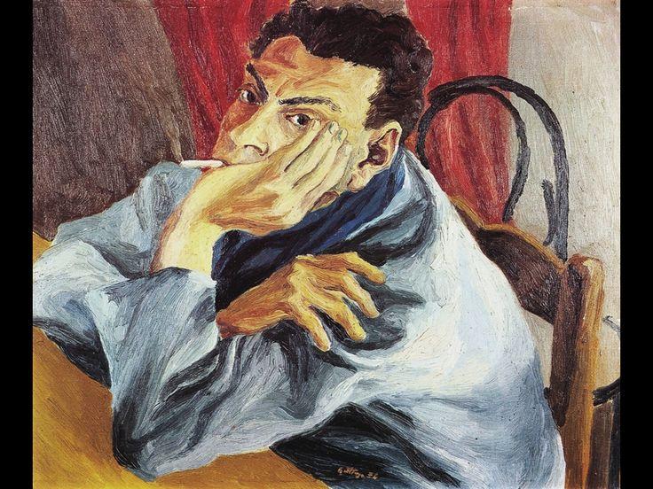 Self-portrait, 1936 / Renato Guttuso