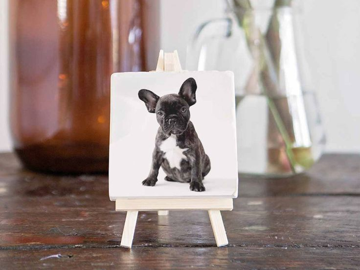 Custom print on stone by Imogen Stone. This print is on one of our cute little mini stones. All mini stone prints arrive with a mini easel stand.