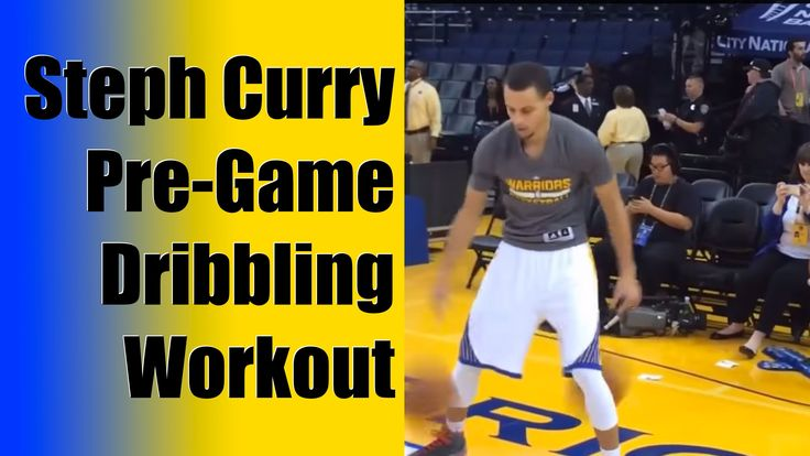 Stephen Curry Pregame Dribbling Workout - Ball Handling Drills