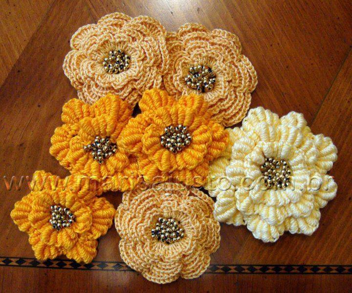140 besten kvačkane rože / crochet flowers Bilder auf Pinterest ...