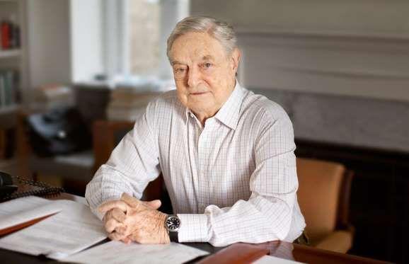 Against all the odds, legendary Hungarian-American investor and mega-philanthropist George Soros esc... - Courtesy Georgesoros.com