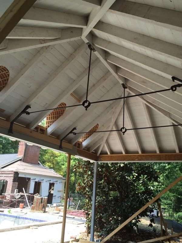 Metal Porch Roof Supports