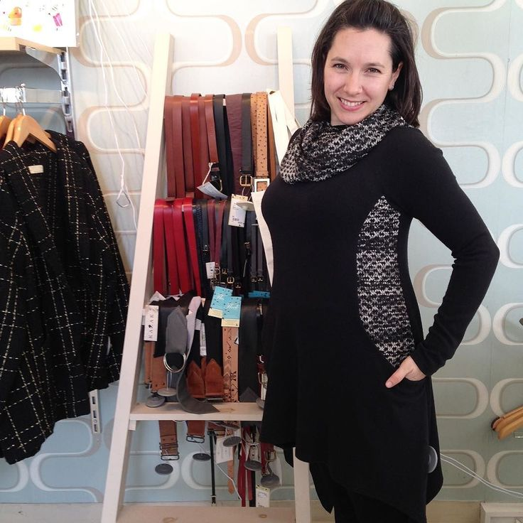 Katelyn is rocking this cowl tunic by Creations Encore. We've only got a few of these pieces left so come on down to Flock! #madeincanada #lifeisgood #skirtgirls #ottcity #myottawa #ottawastyle #613 #curvystyle #powerdressing #bodypositive #bodypositivity #wearcanadian #saletime #ottawafashion #wellingtonwest #adore #wiw #curvesarein #igerscanada #mode #mtl #faitamontreal