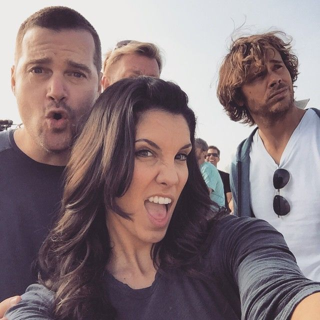 Chris O'Donnell, Eric Christian Olsen and Daniela Ruah