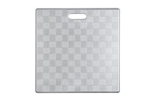 Aspen Creative 18001-22 Basket Weave Pattern Anti-Fatigue, Ergonomically Engineered Toxic, Non-Slip, Waterproof, All-Purpose PU Floor Mat, 20