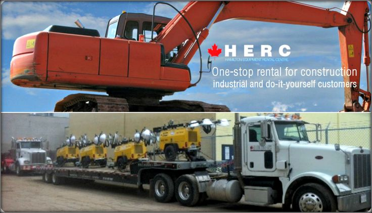 Herc provides construction, compaction and concrete equipment rental in Mississauga used in nearly all forms of construction. #Tools #Aggregates http://bit.ly/herc11