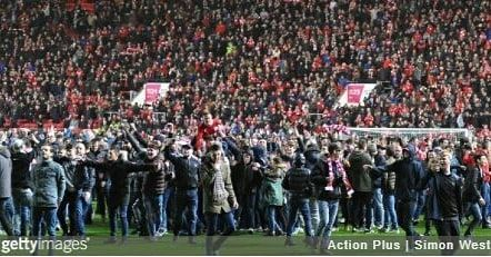 pitch invasion of #BristolCity #BCFC yesterday  #football #casuals #casuallife #casualscene #casualclobber #casualscene #casuallook #casualattire #casuallife #casualwear #footballcasuals #awaydays #thebeautifulgame #terraceculture #instagram #l4l #picoftheday #followforfollow #igers #awaydays #oldschoolfootball #dressers #casuallyobsessed #casualscene #hooligans #againstmodernfootball #thosewerethedays #instafootball #weekendoffender #bristol