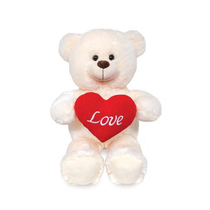 Ursinho de Pelúcia - Snow Love. Macio e com toque suave é impossível não querer abraça-lo. Desenvolvido com o mais alto padrão ele vai encantar quem o receber.