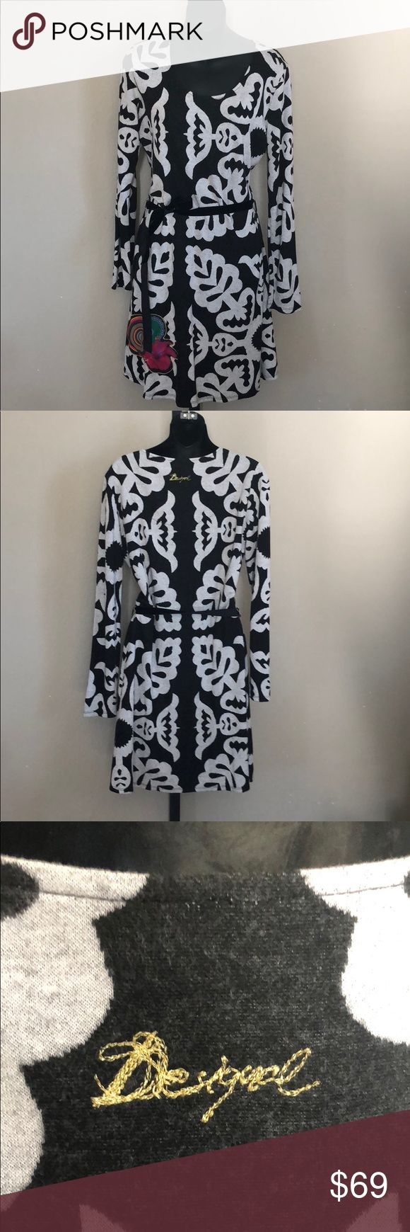 I just added this listing on Poshmark: Desigual black and white cozy dress. #shopmycloset #poshmark #fashion #shopping #style #forsale #Desigual #Dresses & Skirts
