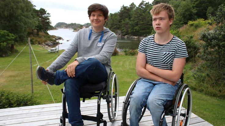 Sasja og Marius ble først nektet å gå naturbrukslinje på videregående. Handikapforbundet sier det er et velkjent problem at unge funksjonshemmede anbefales andre utdanninger enn de selv ønsker.