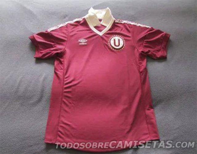 Camiseta suplente Umbro de Universitario de Deportes 2014 (90 años) - Todo Sobre Camisetas
