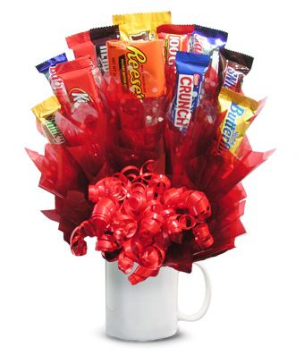 With Valentines Day coming up making and selling candy bouquets can be fun and very profitable - http://sweetshotmemory.blogspot.com