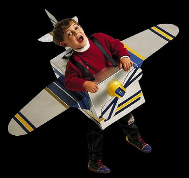 Airplane from Box-with pattern from BHG. Would modify back end, but love that it's no-sew--another duct tape wonder!