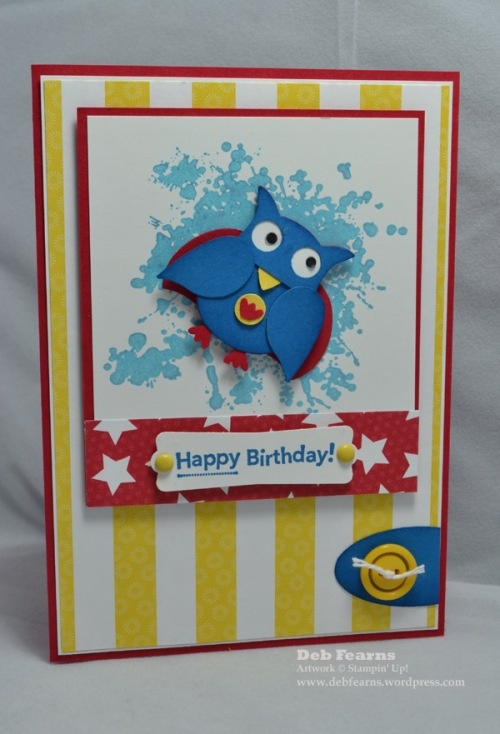Stampin' Up! Owl Punch Birthday Super Owl