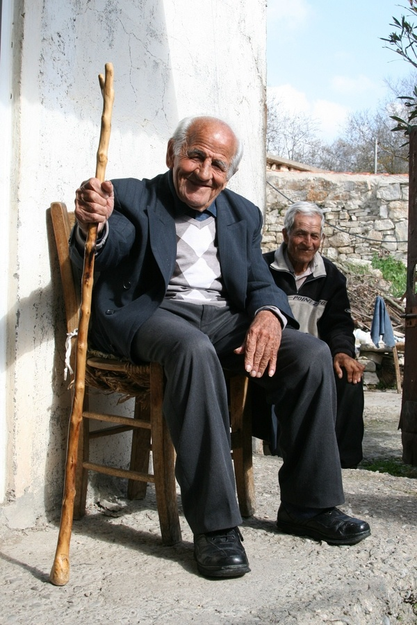 Pappous in Choulou village, Paphos, Cyprus