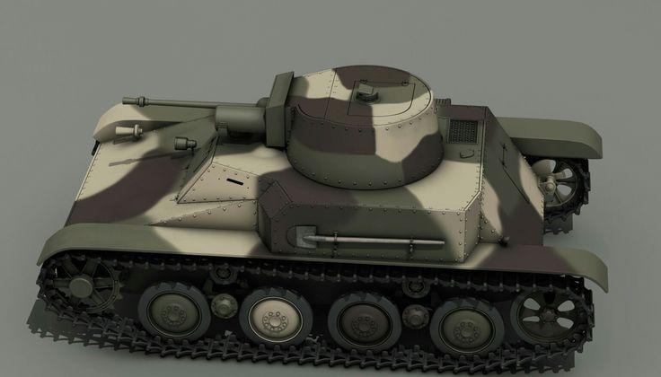 Polish 4tp light tank