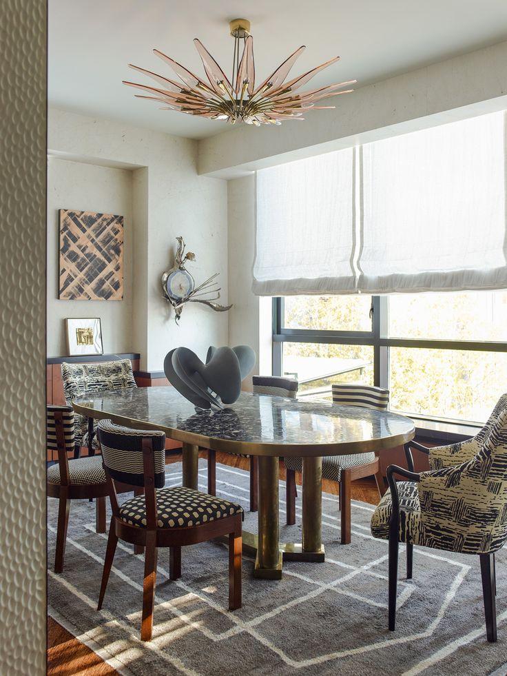 KELLY WEARSTLER | INTERIORS. Dining Room. Blodgett Residence, New York