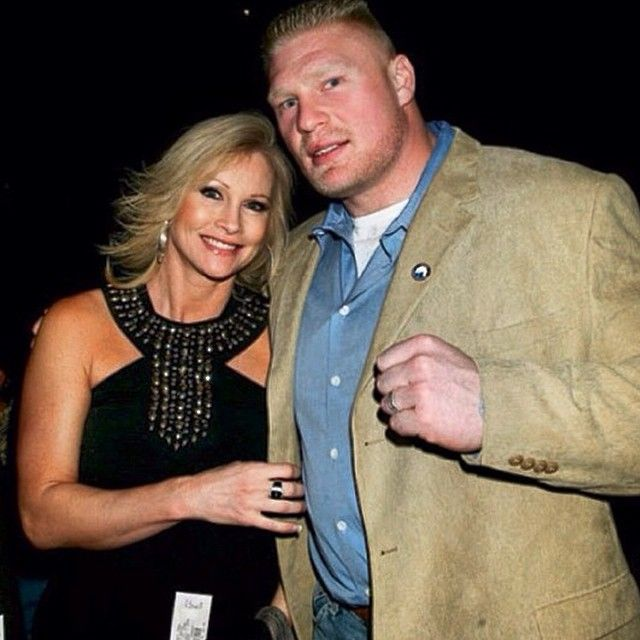 WWE Superstar Brock Lesner and his wife Rena, who previously worked as WWE Diva Sable. #WWE #wwefamilies #wwecouples