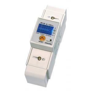 Compteur d'énergie monophasé avec afficheur et sortie impulsion
