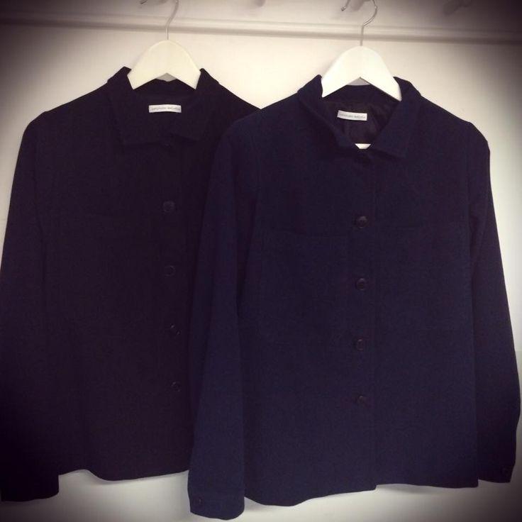 Giubotti in fustagno, nero o blu
