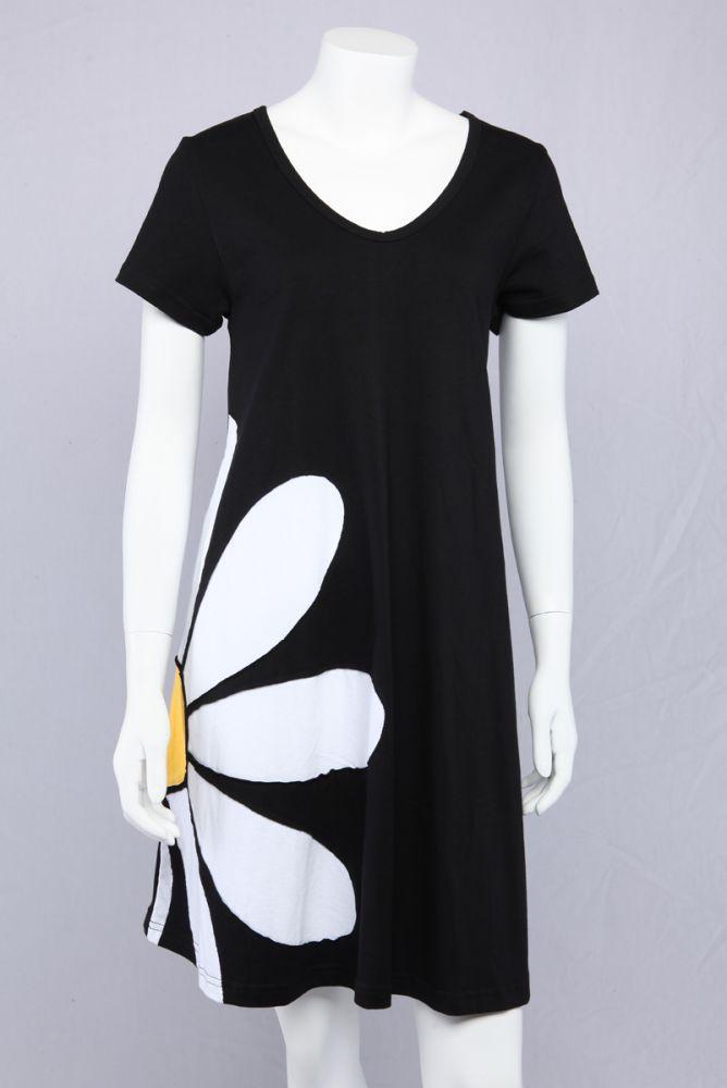A-kjole med marguerit