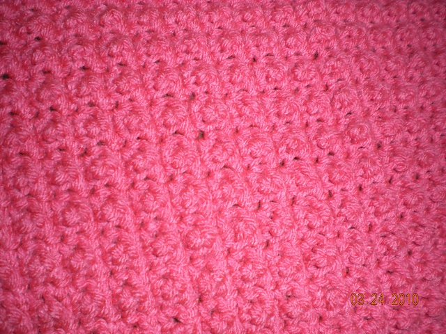 Crochet Jamie Stitch : Ravelry: Nubby Stitch Preemie Blanket pattern by Kelly Kearney