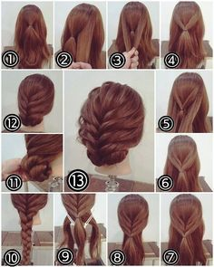 Simple Party Hairstyles For Long Hair Tutorials Step By Step