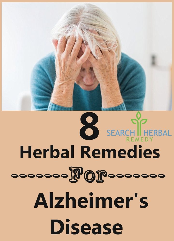 Top 8 Herbal Remedies For Alzheimer's Disease