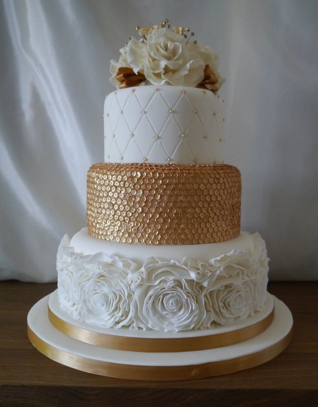 rose gold wedding cake the 25 best ideas about sequin cake on 7119