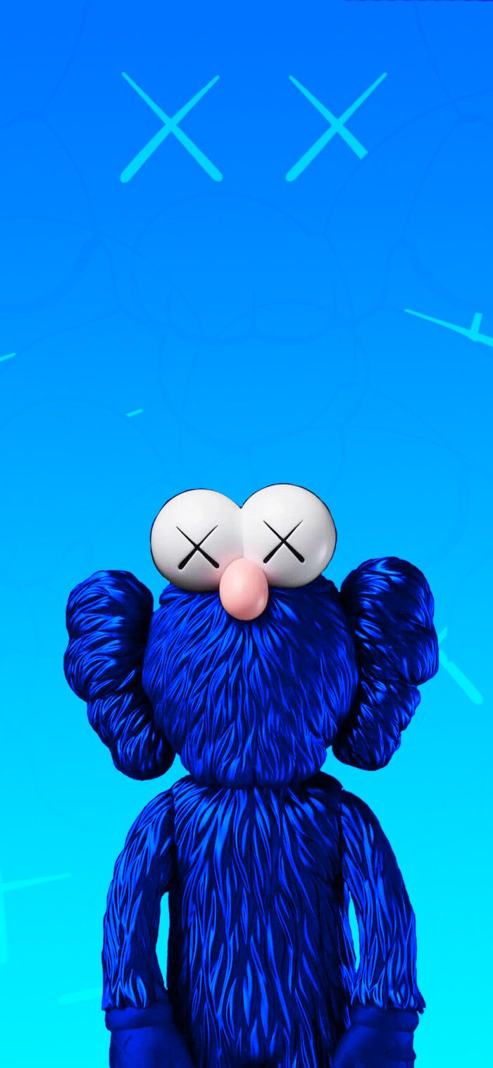 Kaws Wallpaper Blue Kaws Wallpaper Kaws Iphone Wallpaper Hypebeast Iphone Wallpaper