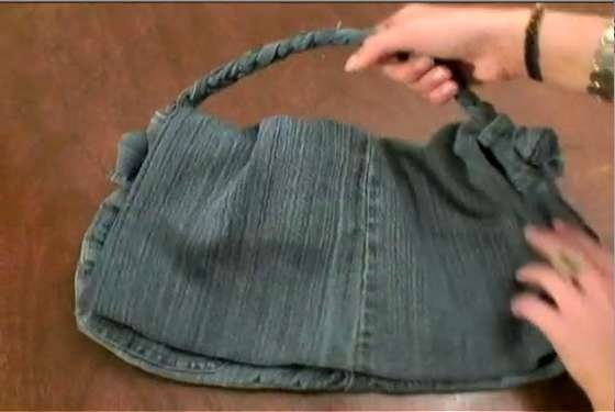 My first DIY bag... from this very tutorial.