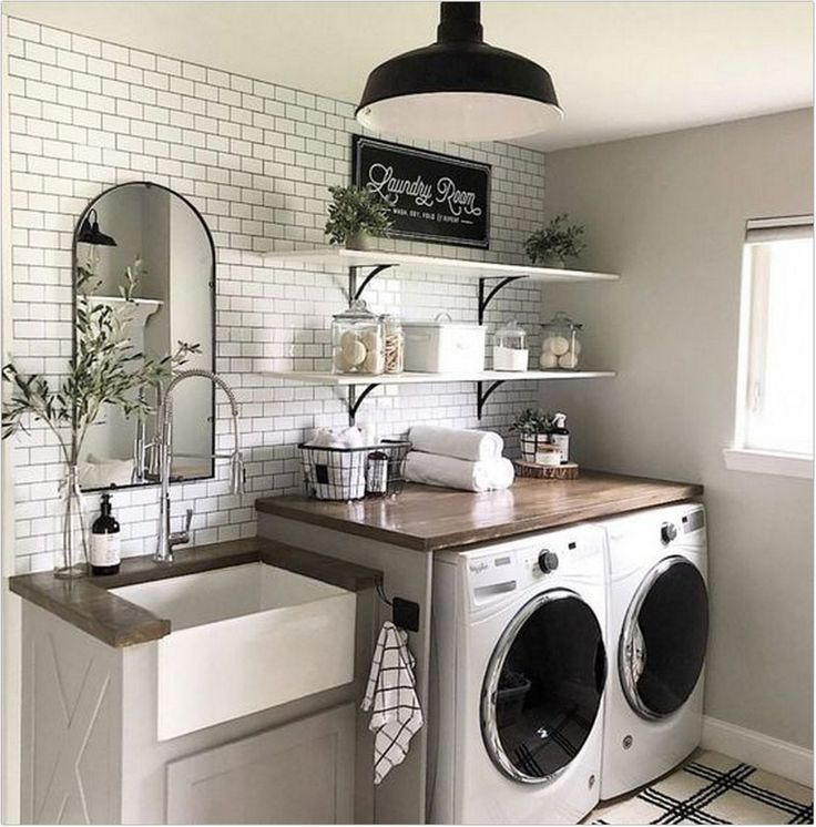 40 Small Laundry Room Makeover Ideas For Dream Room That Will