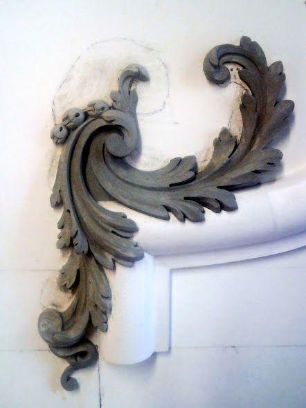Acanthus adornment.