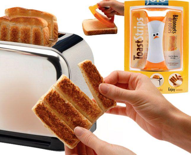 Toast Strips Stamper | 15 Weirdest Kitchen Gadgets Ever