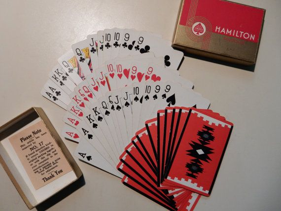 Pinochle Cards by SeekethVintage on Etsy