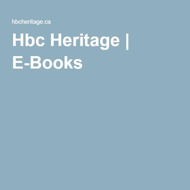 Hbc Heritage | E-Books