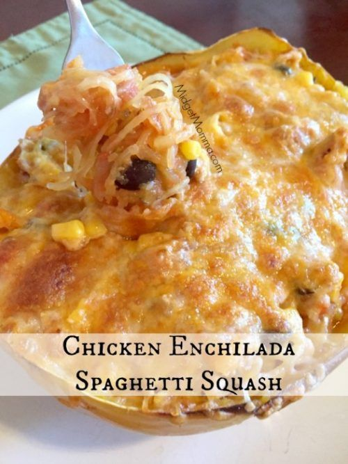 Chicken Enchilada Spaghetti Squash Recipe Staying healthy is a whole lot easier when you have an amazing dish to eat. Chicken Enchilada Spaghetti Squash Recipe is the next big hit of the healthy food world. The squash swaps out the wheat in the meal making it healthier to eat and less filling. Not to say … Continue reading »
