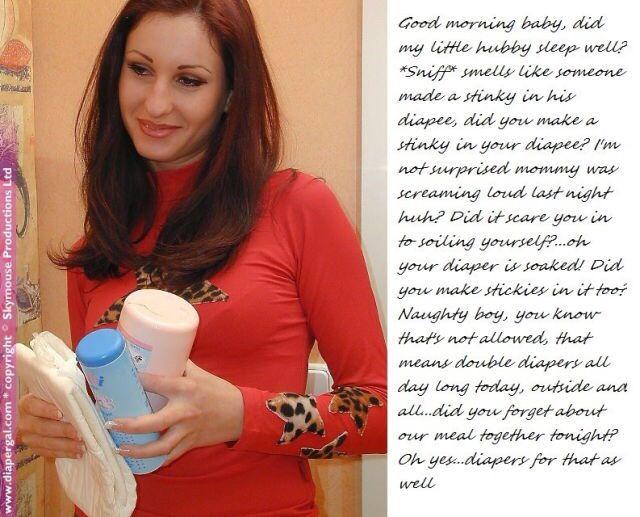 Job femdom diaper story you