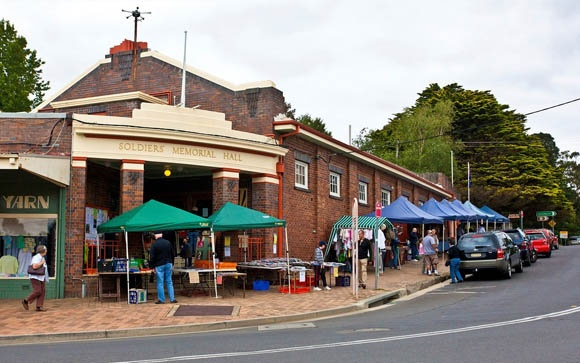 Bundanoon Markets-1st and 3rd Sunday of the month. Just down the road from Solar Springs.